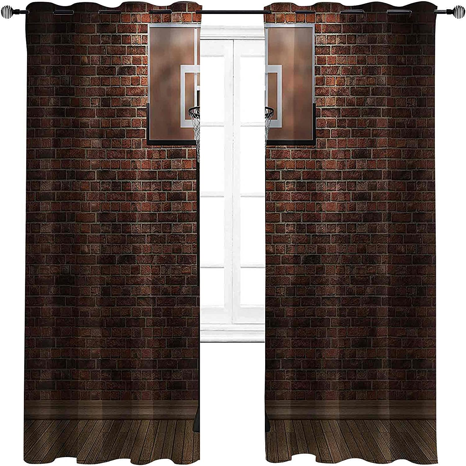 Basketball High-Strength Blackout Field Curtains NEW Max 56% OFF before selling ☆ Spo