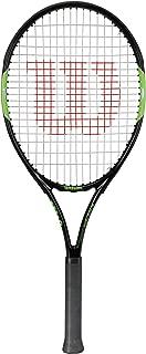 Wilson Blade Team 26 Raqueta de tenis para jóvenes con altura de más de 145 cm, Negro/Rojo