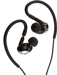 AmazonBasics E300 Sport In-Ear Hoofdtelefoon, Zwart