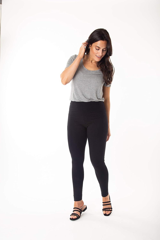 Intro Tummy Control High Waist Pull-On Cotton Spandex Legging