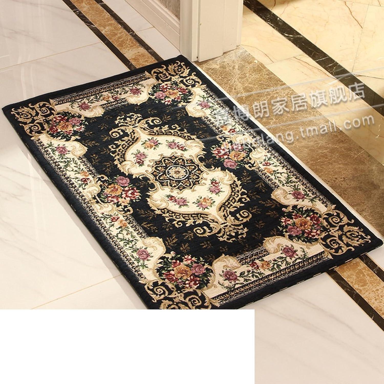 European-Style Floor Mats Indoor Mats in The Hall Doormats Foot Pad Living Room,Bedroom,Kitchen Mats Restroom,Bathroom Non-Slip Mats-C 90x140cm(35x55inch)