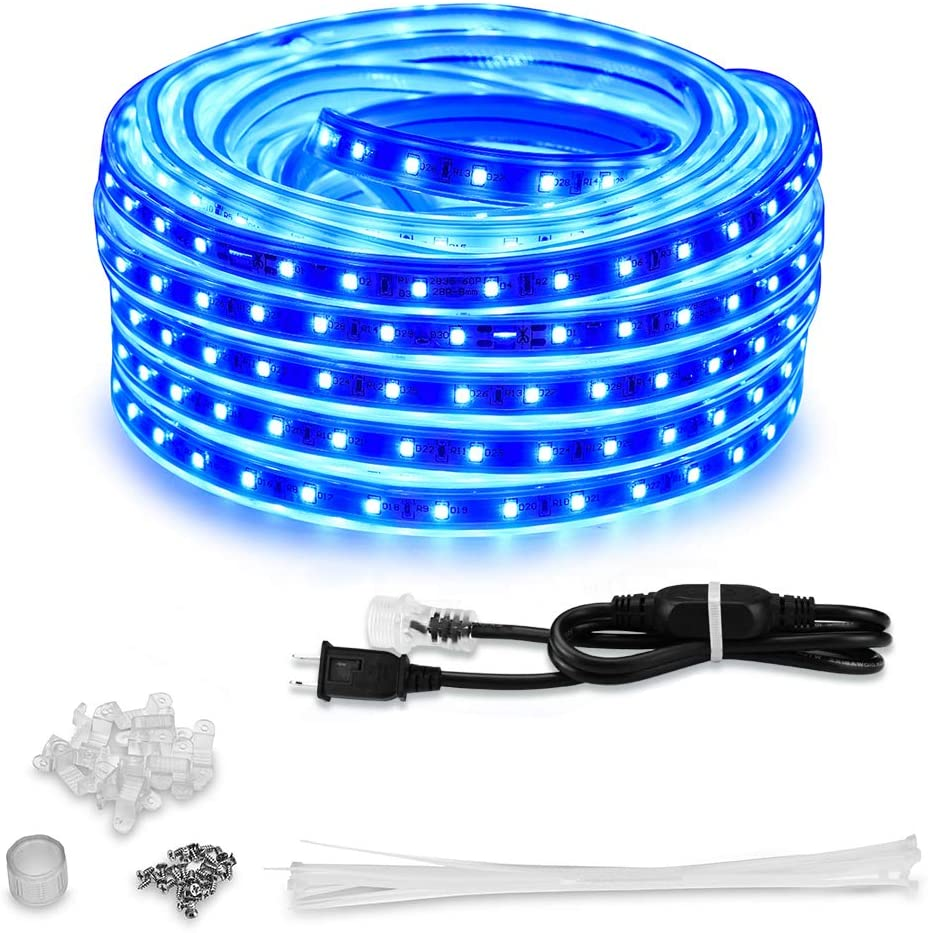 AMANEER 50ft 15m LED Lights Strip kit Rope Great interest Connectable San Diego Mall Flexible