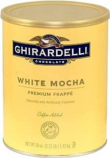 Ghirardelli White Mocha Frappe, 3.12 Pound