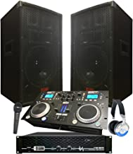 Starter Dj System - 2100 WATTS - Connect your Laptop, iPod, USB, MP3's or Cd's! 10