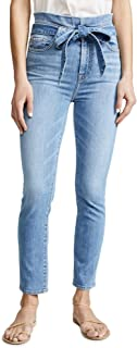 Women's Paperbag Jeans