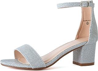 918ddfda919 Amazon.com  Silver Women s Wedge   Platform Sandals