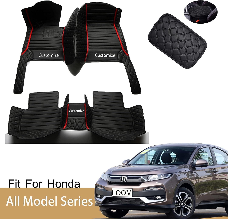 Sungmir Custom Car Bargain sale Floor Mats Max 50% OFF Fit Civic Hatch C Accord Honda for
