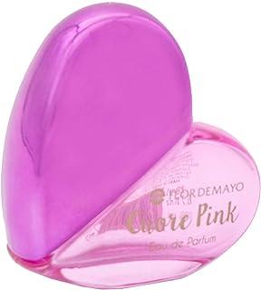 Expositor 23ud. Mini Colonia Cuore Pink para mujer. Con Téster de regalo. 24 x 20ml