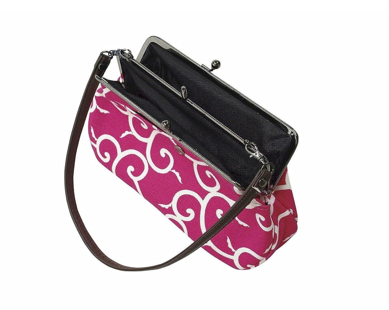 正規化多分多分紐付き ポーチ(がま口)(ao4330) 財布 小物入れ 化粧ポーチ バッグ 鞄
