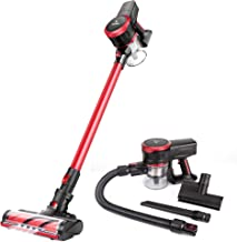 MOOSOO Cordless Vacuum Cleaner 17Kpa Strong Suction 2 in 1 Stick Vacuum Ultra-Quiet..