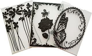 New Arrival Plastic Embossing Folder Scrapbook DIY Paper Cutting Dies Scrapbooking 3 Pcs
