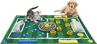 Zacro sovmatta för hundar, mjuk valp dyna, träningsmatta, utfodring och stressnedbrytning, (65x100 cm/(25,6 x 39,4 tum)