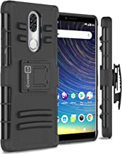 CoverON Holster Belt Clip Explorer Series for Coolpad Legacy Case (2019 6.36 inch Metro T-Mobile) (Black)
