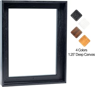 Floating Frame for 16x20 Inch Canvas Painting 1-1/4