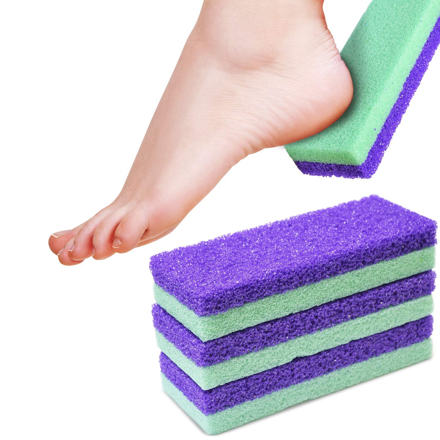Maccibelle Salon Foot Max 83% OFF Pumice and Feet for Heels Cal Max 43% OFF Scrubber