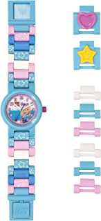 Lego Friends 8021254 Stephanie Kids Buildable Watch with Link Bracelet | Blue/White | Plastic | 25mm case Diameter| Analog Quartz | boy Girl | Official