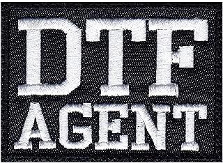 DTF Agent ATF FBI DEA Parody Funny Patch