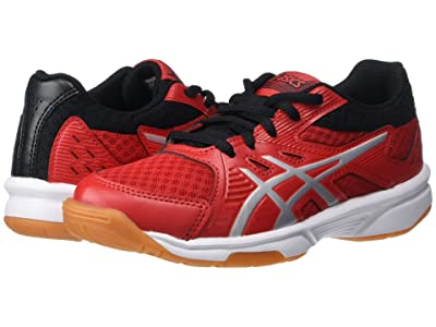ASICS Kids Upcourt 3 Volleyball (Little Kid/Big Kid) (Classic Red/Pure Silver) Kids Shoes