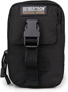 Seibertron Compact EDC Pouch Utility Gadget Wallet Fit 6.3 Phone Belt Bag