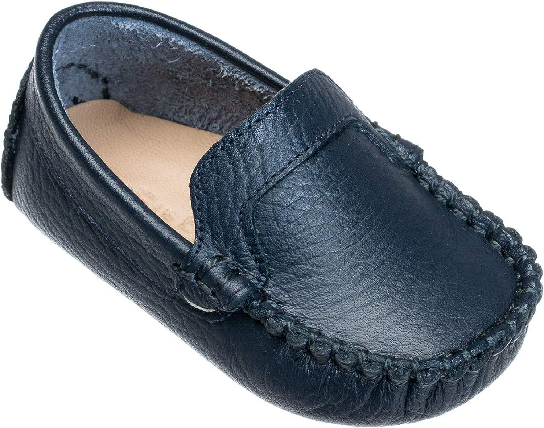 Elephantito Unisex-Child Moccasin Crib Shoe