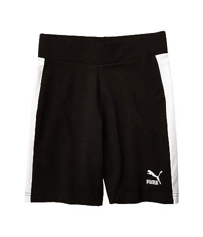 PUMA Classics Biker Shorts (Cotton Black) Women