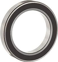 WJB 6905-2RS Deep Groove Ball Bearing, Double Sealed, Metric, 25mm ID, 42mm OD, 9mm Width, 1580lbf Dynamic Load Capacity, 1020lbf Static Load Capacity