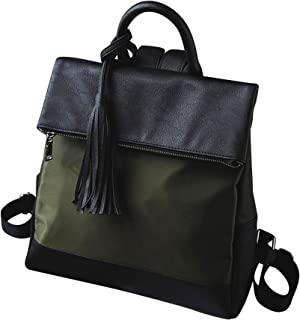 Kronya® | Elegante Handtasche und Rucksack aus Leder | Arbeit Büro Clutch Damen Damenhandtasche Damentasche Henkeltasche S...