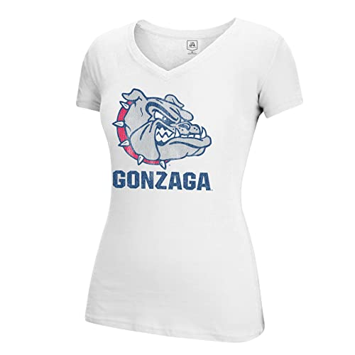 29db69e1e J America NCAA Gonzaga Bulldogs Women s Large Mascot Essential Tee