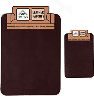 Dark Brown Leather Repair Kits for Couches, Leather Repair Patch, Vinyl Repair Kit - Leather Repair Kit for Car Seats, Vin...