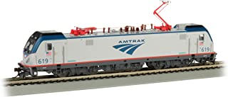 Bachmann Trains ACS-64 Dcc Wowsound Equipped Electric Locomotive AMTRAK #619 - HO Scale Prototypical Silver