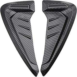RuleaxAsi 1# 1Pair universal Leaf Plate Air Inlet Decoration Trim Cover Side Fender Car Styling