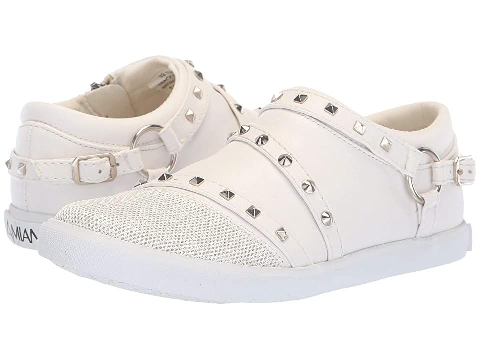 Amiana 15-A5510 (Toddler/Little Kid/Big Kid/Adult) (White Casual PU) Girl