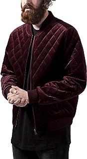 Urban Classics Diamond Quilt Velvet Jacket Giacca Uomo