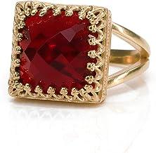 Peach Moonstone ring,Brass Gemstone Ring Crystal Rings Stackable Gemstone Rings,Handmade Rings,Unique ring