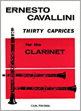 O106 - Thirty Caprices for the Clarinet