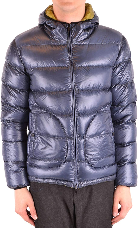 HERNO Men's MCBI38072 blueee Polyester Down Jacket