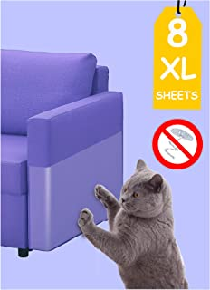 Jxselect Anti Scratch Cat Training Tape,8 Pieces XL Large (11.8