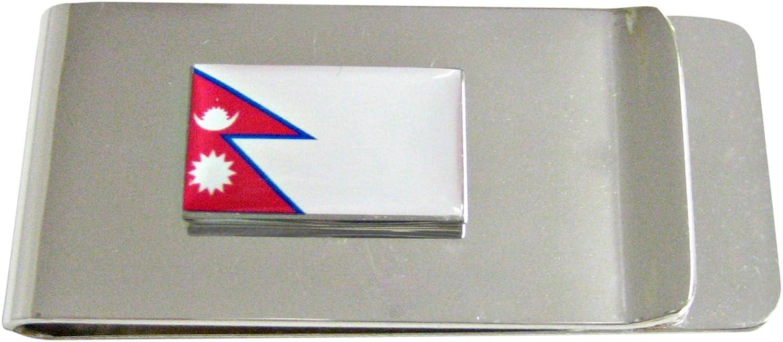 Nepal Flag Money Clip