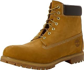 populaire de Bottes Boots TIMBERLAND jaune à motif Uni en