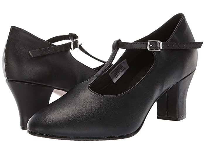 Rockabilly Shoes- Heels, Pumps, Boots, Flats Bloch Roxie Black Womens Dance Shoes $51.50 AT vintagedancer.com