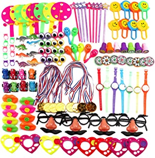 120PCS Kids' Party Favor Sets Carnival Prizes for Kids Birthday Party Favors Prizes Box Toy Assortment for Classroom