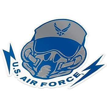 Sheet - Thunderbirds US Air Force USAF United States Air Force Emblem Logo Sticker Vinyl Decal Laptop Water Bottle Car Scrapbook Licensed