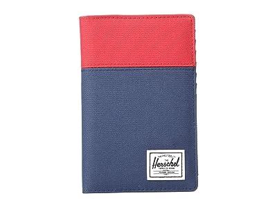 Herschel Supply Co. Search RFID (Red/Navy/Woodland Camo) Wallet Handbags