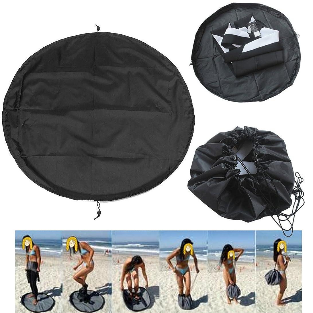 権威十分くるみA-cool ウェットスーツ 着替えマット ドライキャリーバッグ - 大きな防水サーフバッグ 引き紐付き ダイビングバッグ サーフィン ダイビング ウェットスーツ収納