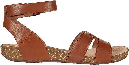 Dark Tan Leather/Suede Combi