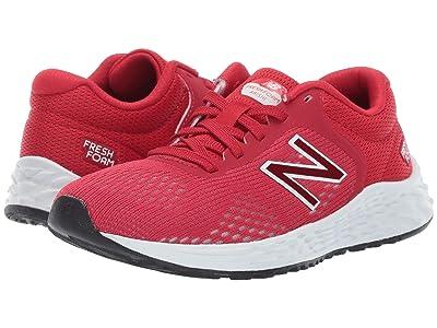 New Balance Kids YPARIv2 (Little Kid/Big Kid) (Team Red/White) Boys Shoes