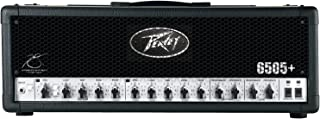 Peavey 6505 Plus Electric Guitar Amplifier 120 Watt Speaker Amp Head 3 Band EQ (Renewed)