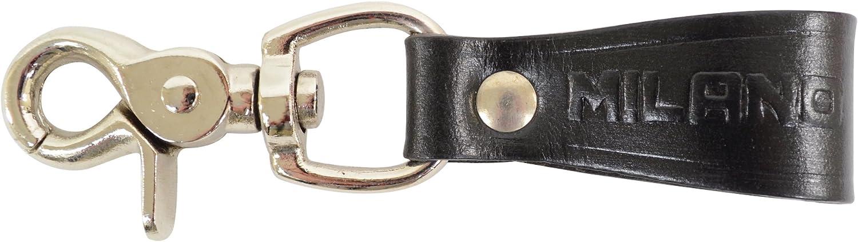 Men's Leather Belt Loop Keyring / Clip / Keychain / Key Holder