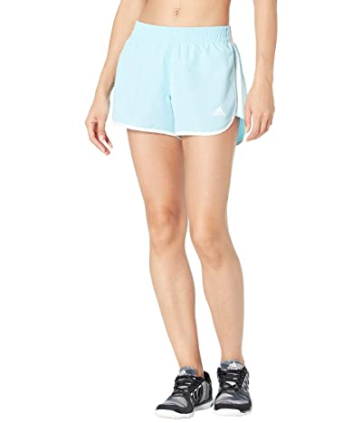 adidas M20 Shorts (Hazy Sky/White) Women