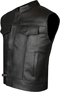 outlaw leather vest